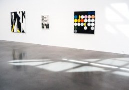 """Sarah Morris """"Finite and Infinite Games"""" solo exhibition at Petzel Gallery, New..."""
