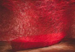 "Chiharu Shiota ""Destination"" exhibition atGalerie Daniel Templon, Paris"