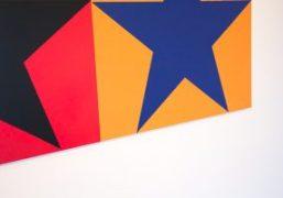 """Lucien Smiths """"Cosmas and Damian"""" exhibition at Moran Bondaroff, Los Angeles"""