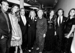 Front row at Ralph Lauren fall 2017 runway show and dinner at...