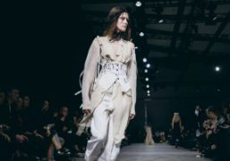 Ann Demeulemeester S/S 2018 show at AccorHotels Arena, Paris