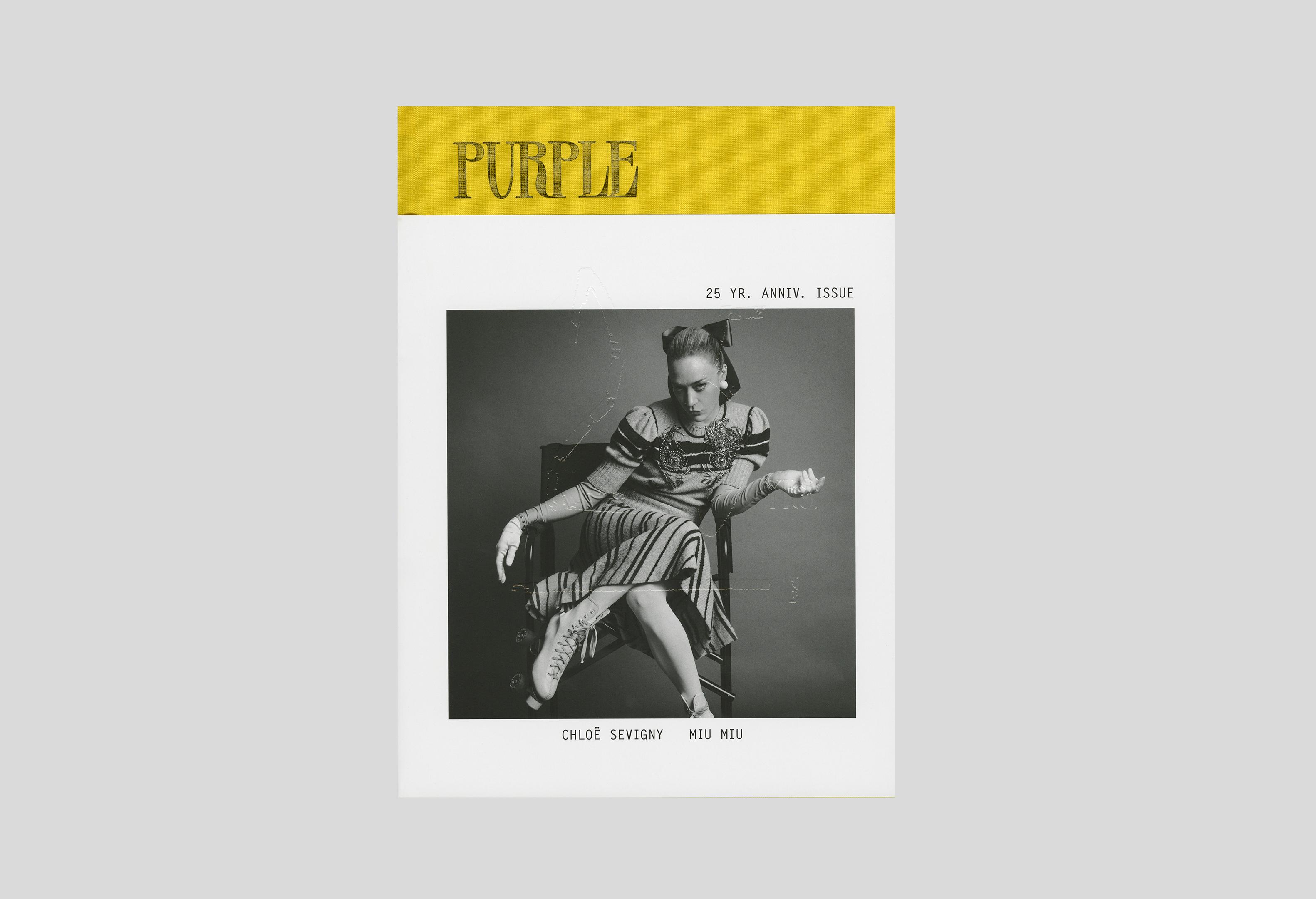 Purple 25YRS Anniv. issue 28 F/W 2017