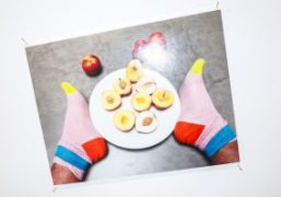 "Juergen Teller ""Leg, Snails and Peaches"" exhibition at Galerie Suzanne Tarasieve, Paris"