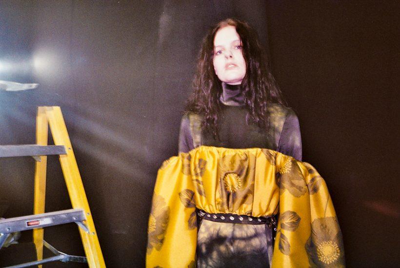 Marques Almeida F/W 2018 backstage, London