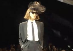 Hedi Slimane's debut collection for Celine S/S 2019, Paris