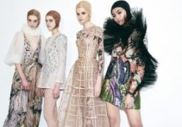 Christian Dior Haute Couture S/S 2019 Backstage at Musée Rodin, Paris