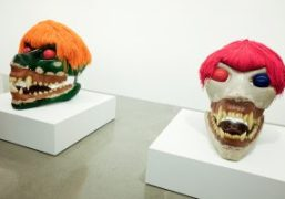 """Sterling Ruby's """"Damnation"""" exhibition at Sprüth Magers, los Angeles"""
