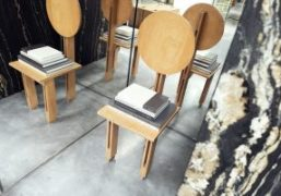 A Look Inside the Celine Boutique Designed by Hedi Slimane in Grenelle,...