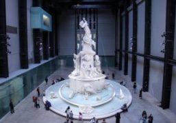 "Kara Walker's ""Fons Americanus"" Installation at the Tate Modern, London"