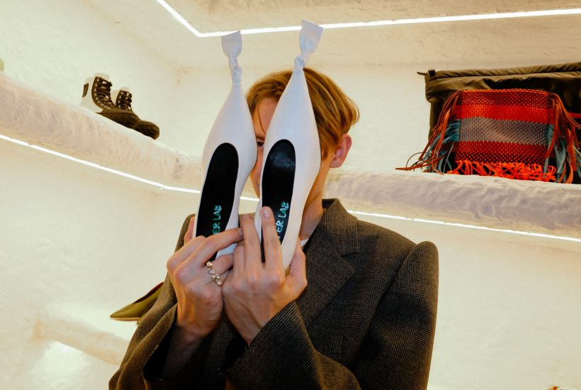 CAMPERLAB Presentation by Archilles Ion Gabriel of the F/W 2020 Collection, Paris