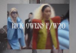 Behind The Scenes at Rick Owens F/W 2020 at Palais De Tokyo,...