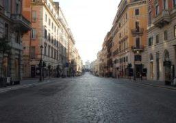 Rome during Covid 19 by Gabriele Malaguti