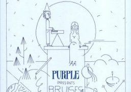 Purple LIVE FROM PARIS: TOMORROW! The exclusive release of BRUISES new EP...