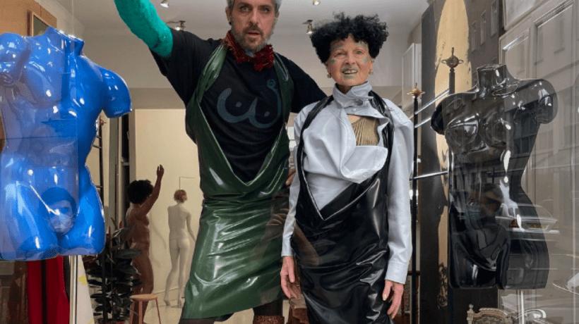 Andreas Kronthaler for Vivienne Westwood F/W 2021, Paris