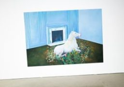 """""""The Emerald Tablet,"""" an exhibition by Ariana Papademetropoulos at Jeffrey Deitch, Los..."""