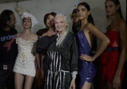 Andreas Kronthaler for Vivienne Westwood S/S 2022 Backstage, Paris