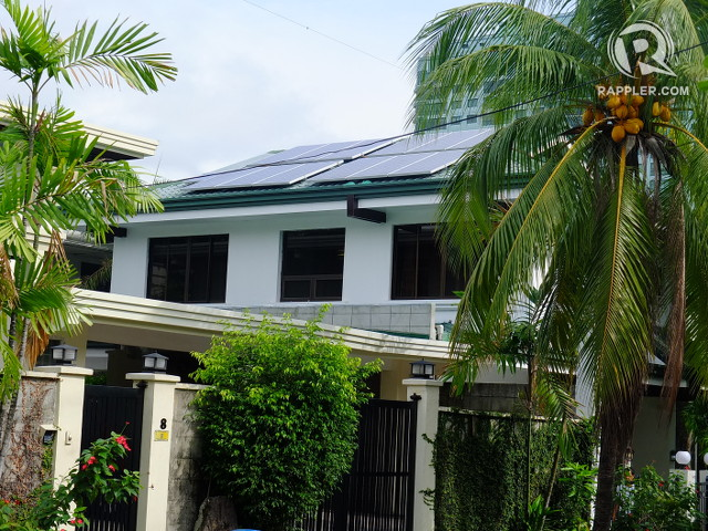 ABUNDANT. Mike De Guzman's wide roof is an ideal place to install solar panels.