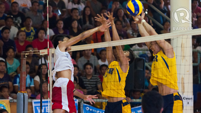 FIRST TIME. Calabarzon won their 1st men's crown in recent memory. Photo by Rappler/Roy Secretario.