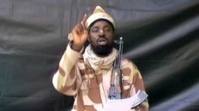 FULL SUPPORT. A grab made in July from a video obtained by AFP shows the leader of the Islamist extremist group Boko Haram Abubakar Shekau, dressed in camouflage and holding an Kalashnikov AK-47. Photo from AFP