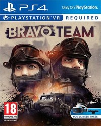 Bravo Team  PS4    Video Games Online   Raru Bravo Team  PS4    Cover