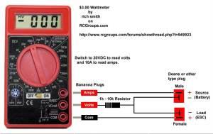 EastBay RC: Three Dollar Wattmeter