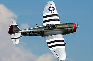 Hangar 9 P 47D Thunderbolt 20cc   RC Groups The Hangar 9 P 47D Thunderbolt 20cc features a 67  wingspan