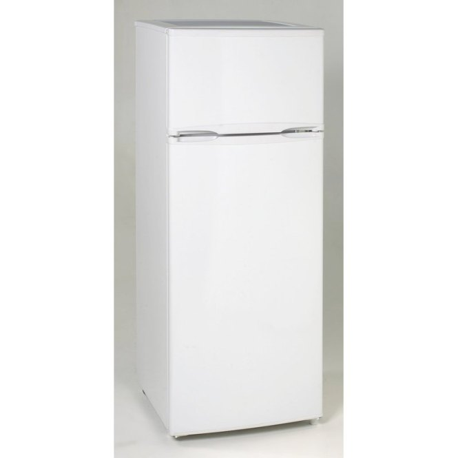 Avanti Two Door Apartment Size Refrigerator White Rc Willey Furniture