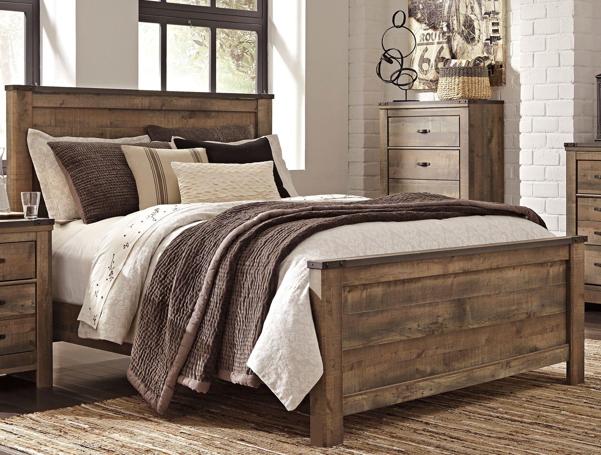 Rustic Casual Contemporary 6 Piece King Bedroom Set