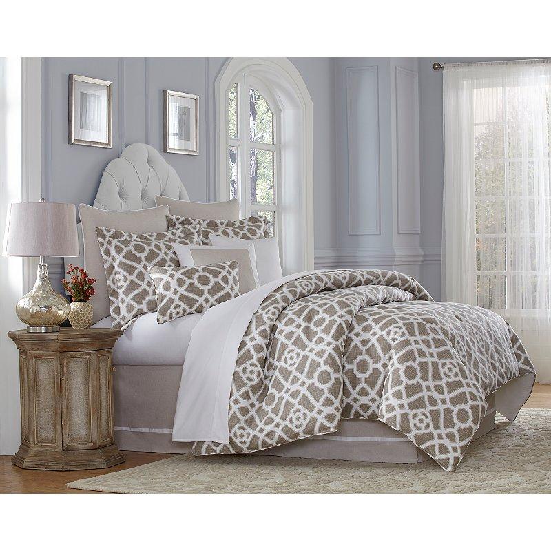 harper queen 9 piece bedding collection rc willey furniture store
