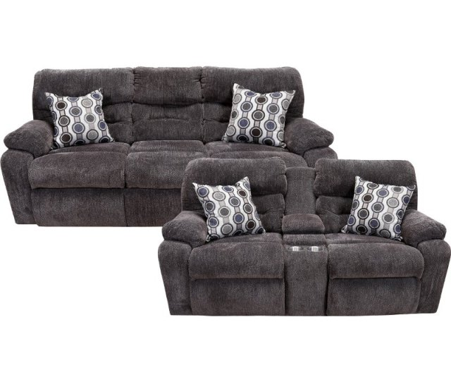 Chocolate Brown Power Reclining Living Room Set Tribute Rc Willey Furniture Store