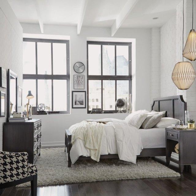 Classic Contemporary Gray 4 Piece Queen Bedroom Set - 5th ...