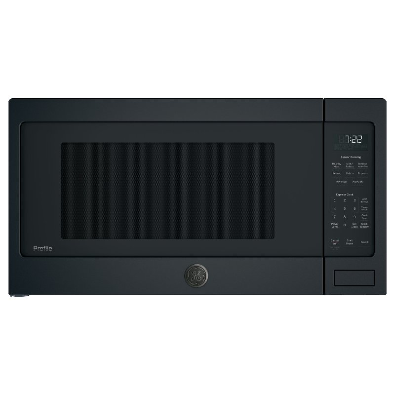 ge profile countertop microwave 2 2 cu ft black slate rc willey furniture store