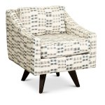 R C Willey For Cream Blue And Gray Swivel Accent Chair Henley Ibt Shop