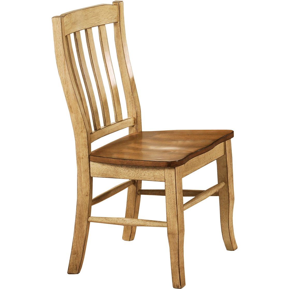 Almond And Wheat Rack Back Dining Room Chair Quails Run Collection RC Willey Furniture Store