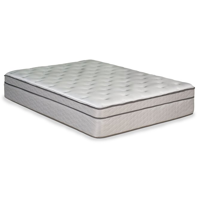 929996 3050 Clearance Queen Mattress Sunset Columbia Euro Top