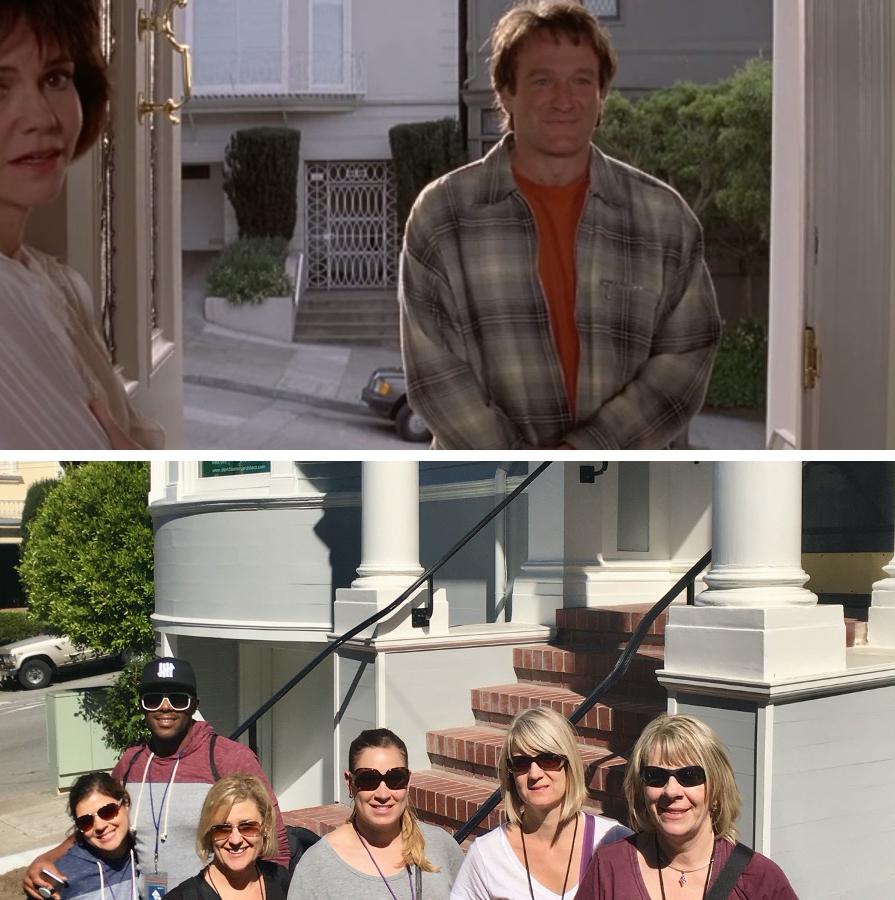 Movies filmed in San Francisco - mrs doubt fire