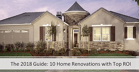 """The 2018 Guide """"10 Home Renovations with Top ROI"""""""