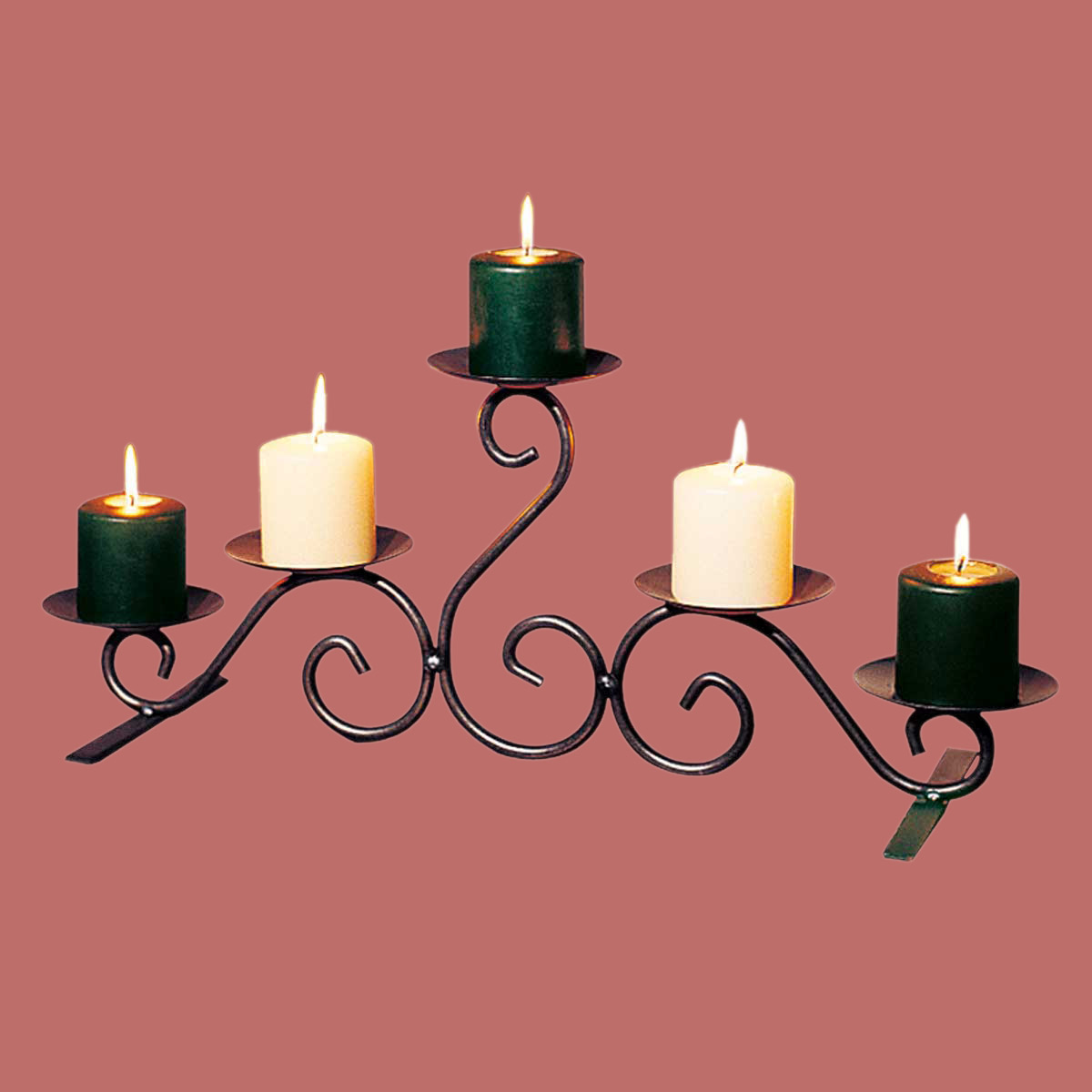 """Candle Holders Black Wrought Iron 10""""H on Black Wrought Iron Wall Candle Holders id=67696"""