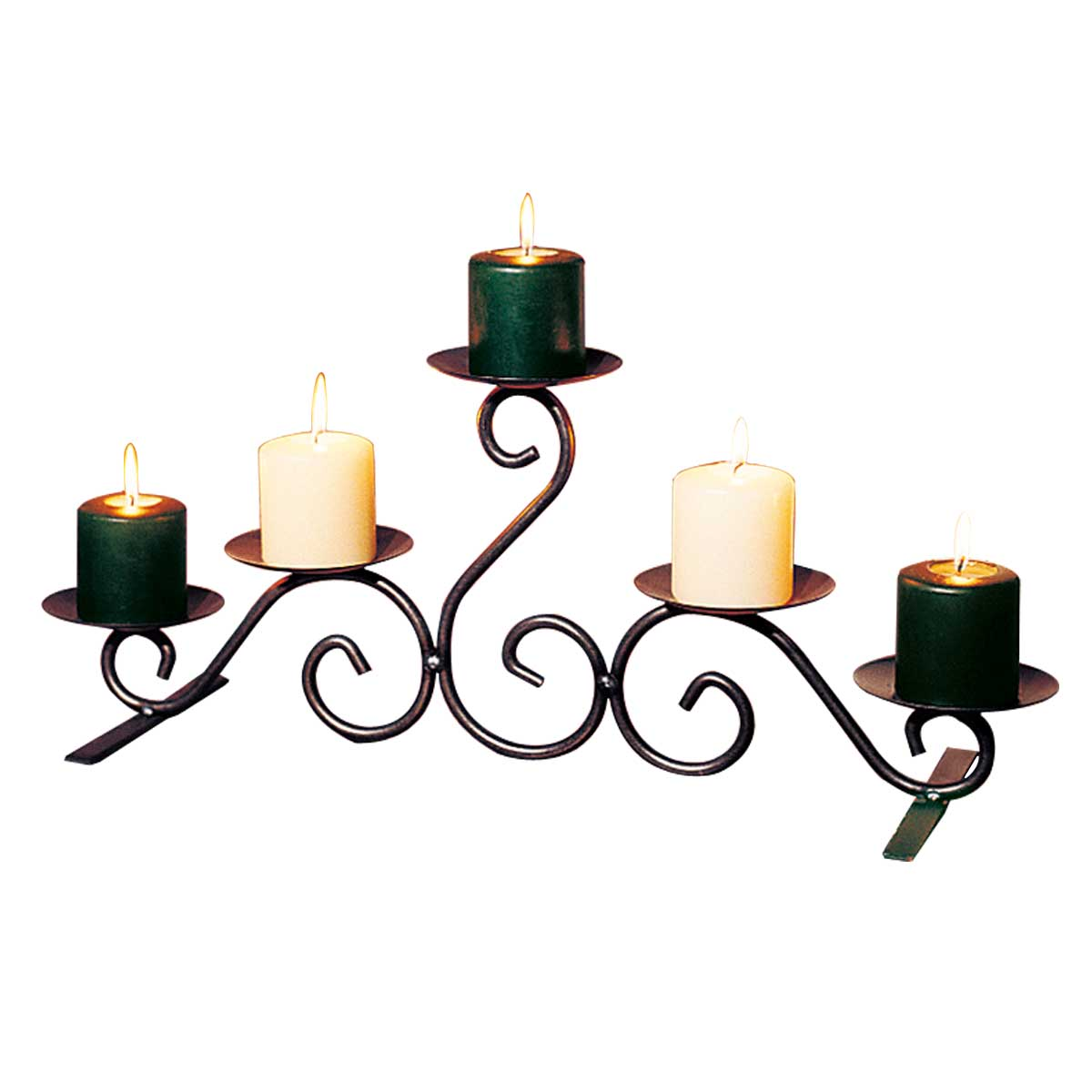 """Candle Holders Black Wrought Iron 10""""H on Black Wrought Iron Wall Candle Holders id=81498"""