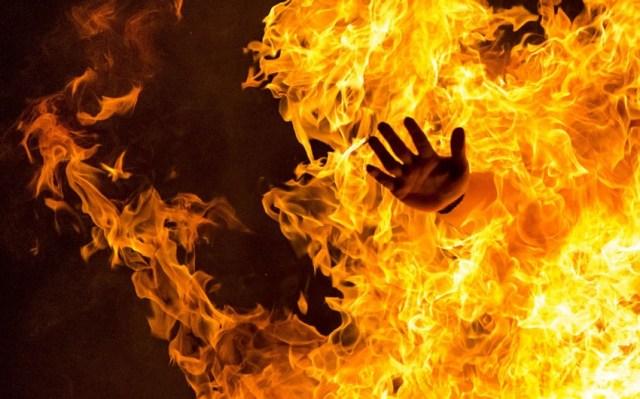 Жительница Хачмаза пыталась сжечь себя   Report.az