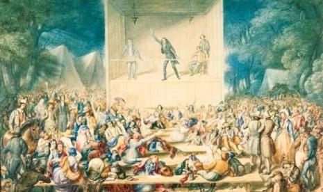 Aksi melawan hegemoni agama (ilustrasi).
