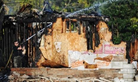 Masjid di AS yang Dibakar Ternyata Imamnya Orang Indonesia