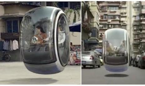 Asyik, VW Bikin Mobil Terbang, Lihat Videonya