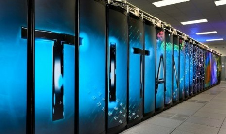 AS Buat Komputer Super Bernama Titan