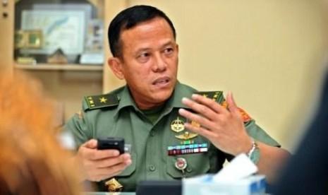 Staf Ahli Menteri Pertahanan Bidang Keamanan, Mayjen Hartind Asrin.
