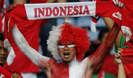 Suporter Indonesia tak Takut Teror di Bukit Jalil
