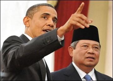 Foto SBY dengan Obama