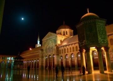 Masjid Agung Damaskus, Peninggalan Daulah Umayyah