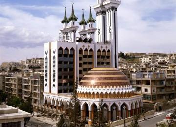 Aleppo, Kota Para Khalifah Umayyah