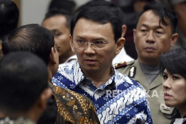 Gubernur DKI Jakarta Basuki Tjahaja Purnama (Ahok)